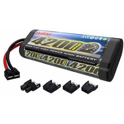 Venom 7.2V 4200mAh 6-Cell NiMH Battery with Universal Plug