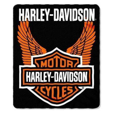 Northwest Harley Fleece Throw