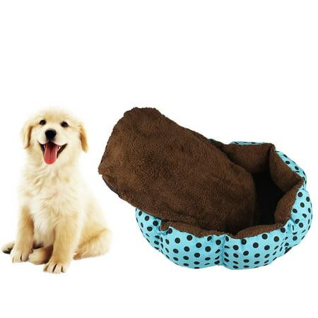 New Fleece Pet Dog Puppy Cat Warm Bed House Plush Cozy Nest Mat Pad BU