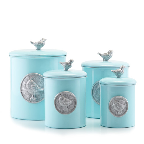 cheap kitchen canister sets international bluebird 4 kitchen 16690