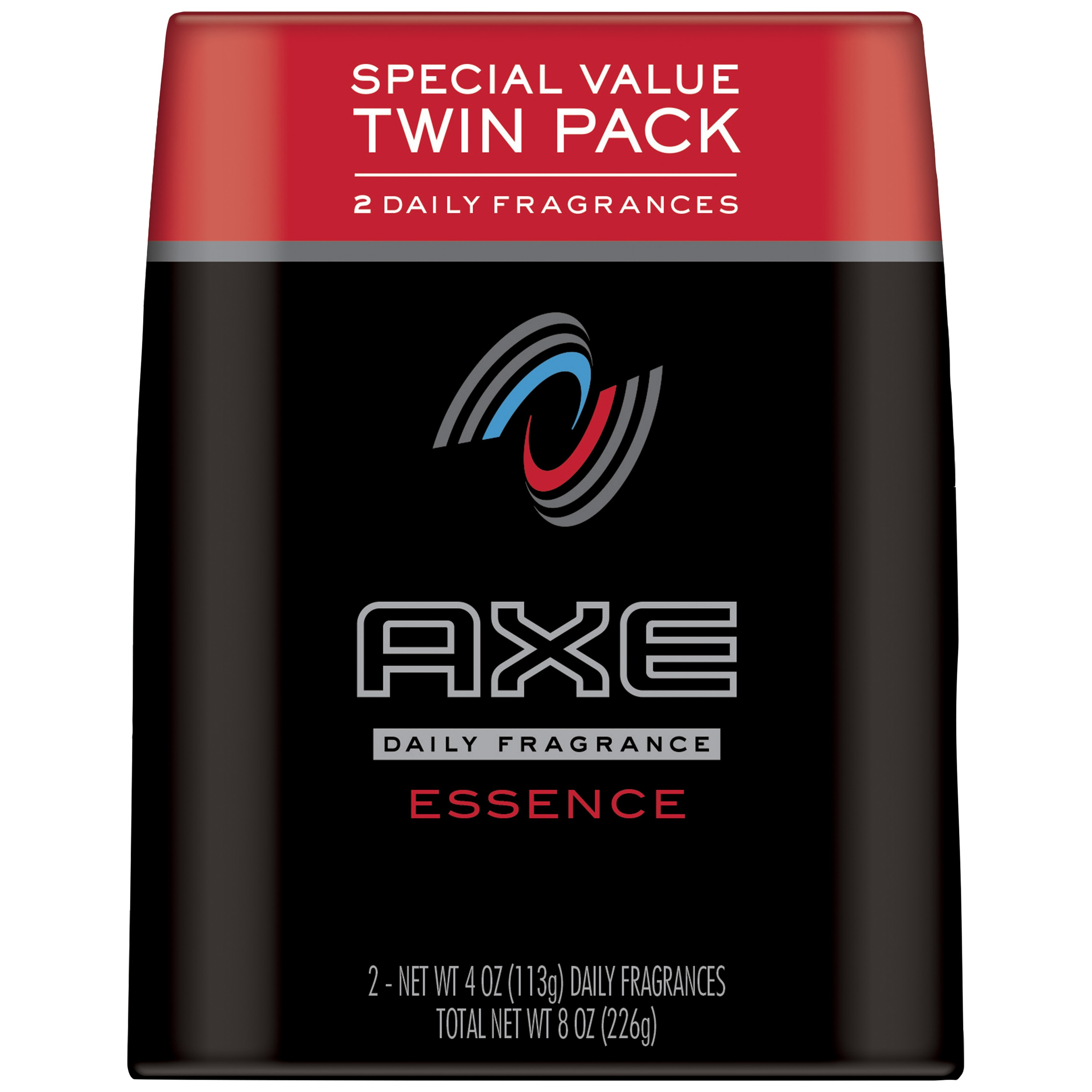 AXE Body Spray for Men Essence 4 oz, Twin Pack