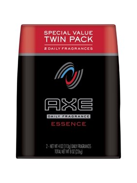Axe Essence Body Spray For Men, 4 Oz, Twin Pack