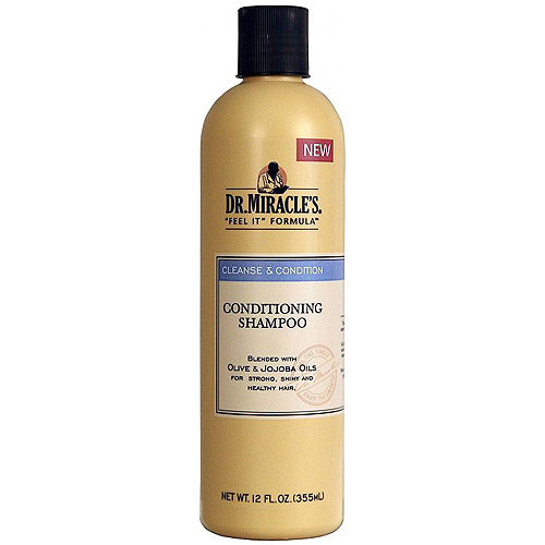 Dr. Miracle's Cleanse & Condition Shampoo, 12 oz