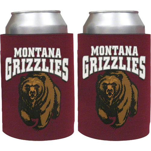 NCAA - Montana Grizzlies Can Koozie 2-Pack