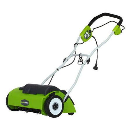 Greenworks 27022 10 Amp 14 in. Electric Dethatcher