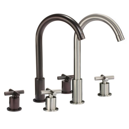 FREUER Gooseneck Kitchen Sink Faucet - Multiple Finishes ...