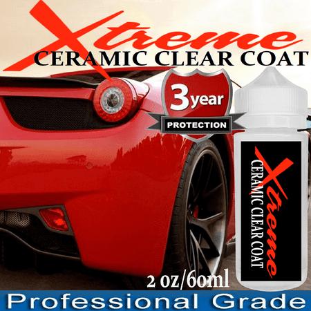 CERAMIC CAR WAX CAR COATING TRUE NANO 9H PROTECTION WET LOOK ULTRA GLOSS SHINE Xtreme Nano 9H Ceramic Clear Coat