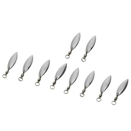 10Pcs Spinner Longcast Metal Spoon Bait Fishing Blade Hard Fishing Spoon Lures Jigging Lure Baits thumbnail