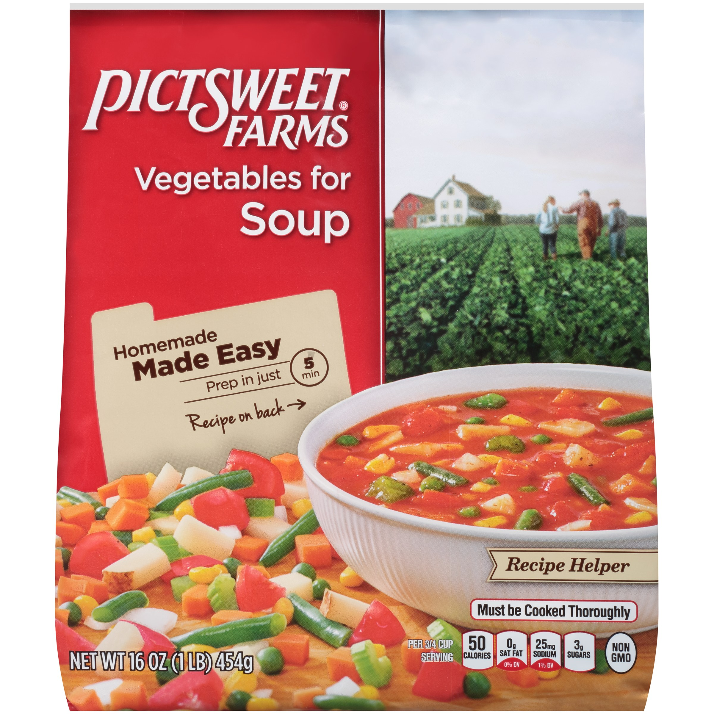 Pictsweet® Farms Vegetables for Soup 16 oz. Stand Up Bag