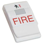 EDWARDS SIGNALING EG1F-HD Horn,Marked Fire,White