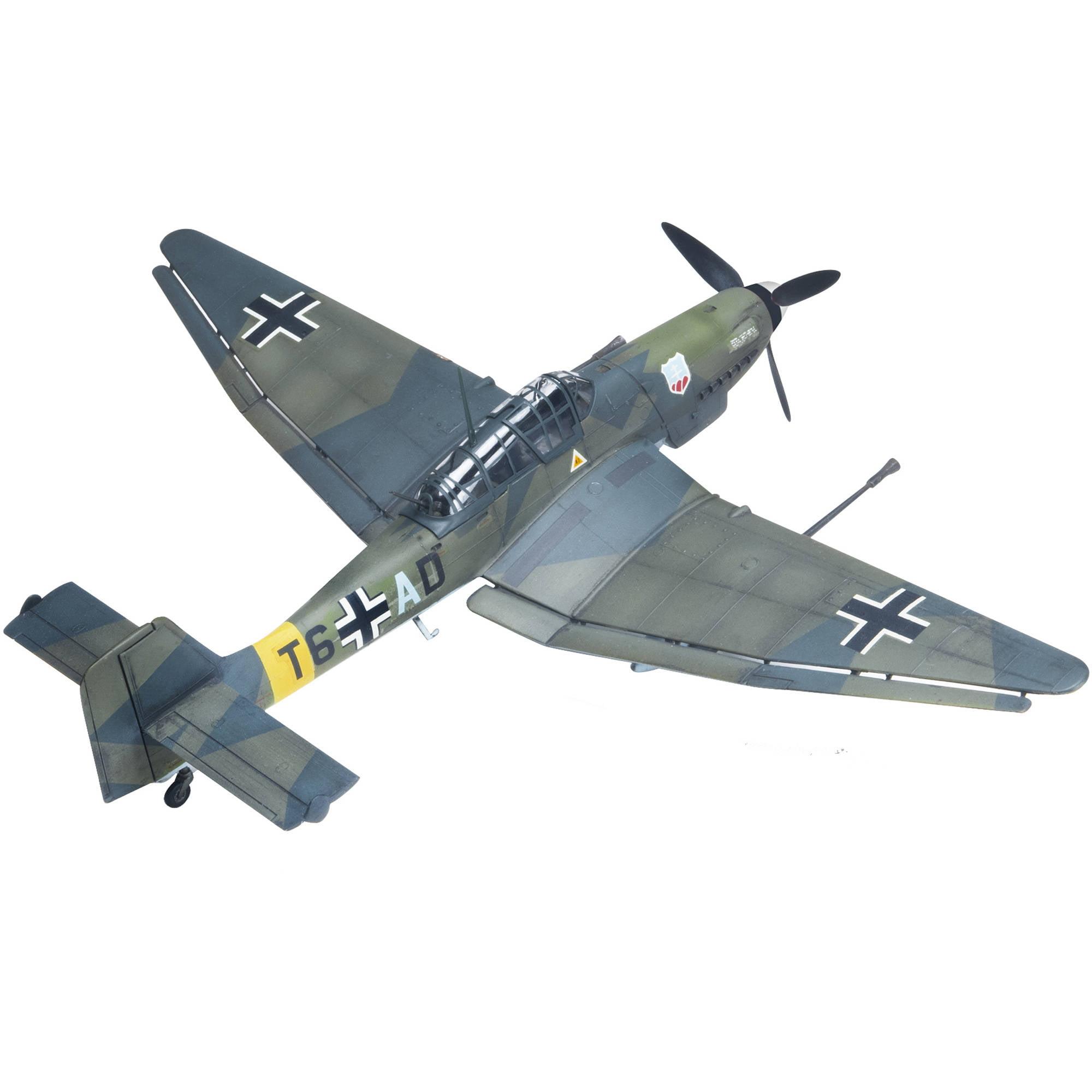 Revell 1:48 Stuka Ju 87G-1 Tank Buster Plastic Model Kit by Revell