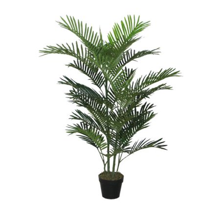 Bay Isle Home Faux Floor Palm Plant in