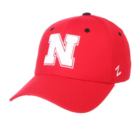 Zephyr Nebraska Cornhuskers Fitted Hat - Nebraska Cornhuskers Official NCAA DH Size 7 3/8 Fitted Hat Cap by Zephyr 629628
