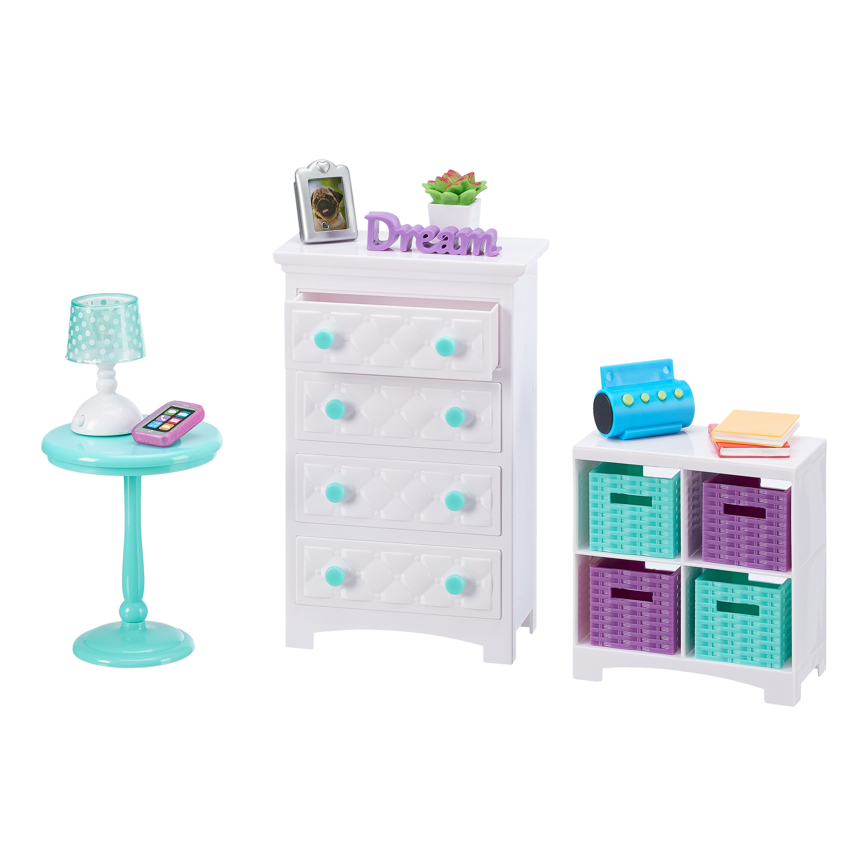 My Life As Bedroom Toy Accessories Play Set for 18-inch Dolls, 16 Pieces -  Walmart.com