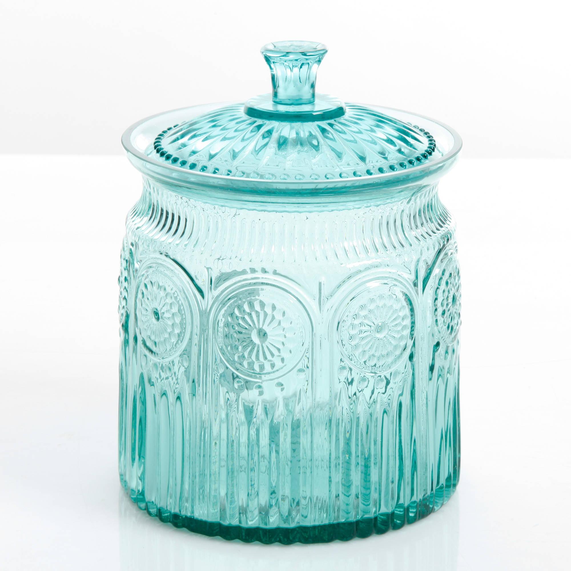 Beach Pottery Ideas: The Pioneer Woman Adeline Glass Cookie Jar