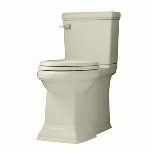 American Standard 2817.128.222 FloWise Elongated 1-Piece Floor Mount Toilet (Linen)