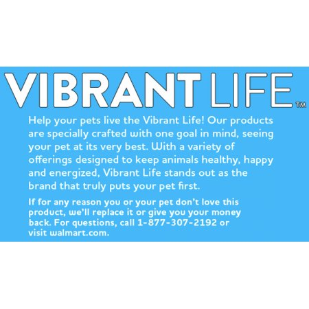Vibrant Life Luxe Cuddler Pet Bed, Medium, Blue Linen