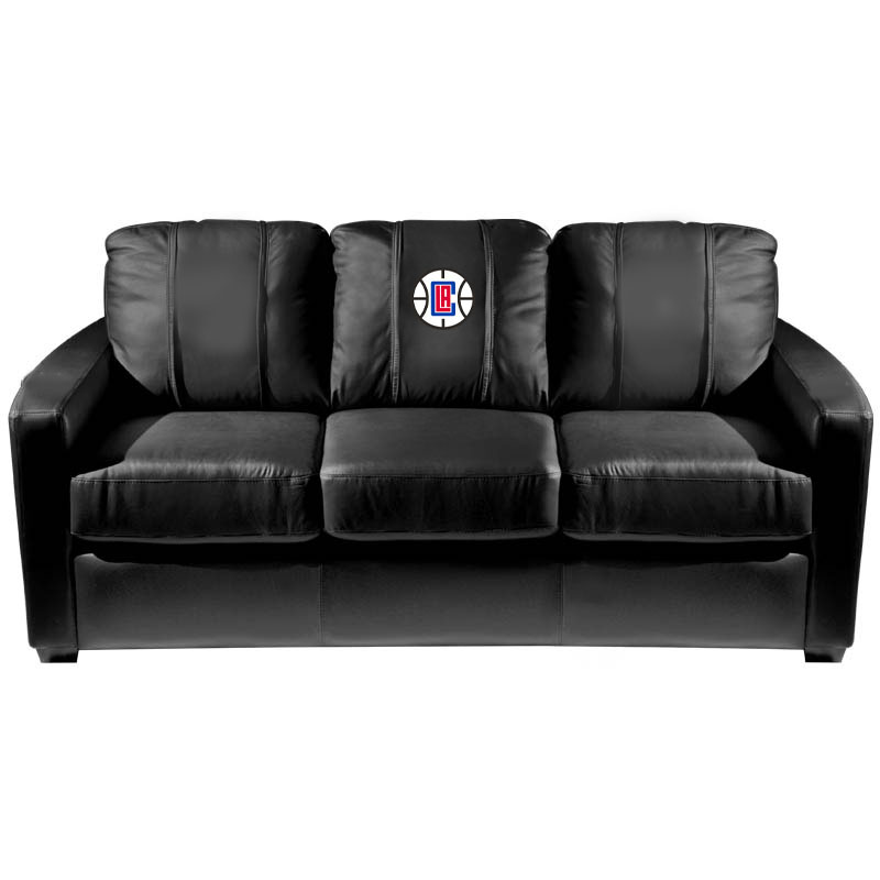 Los Angeles Clippers NBA Silver Sofa