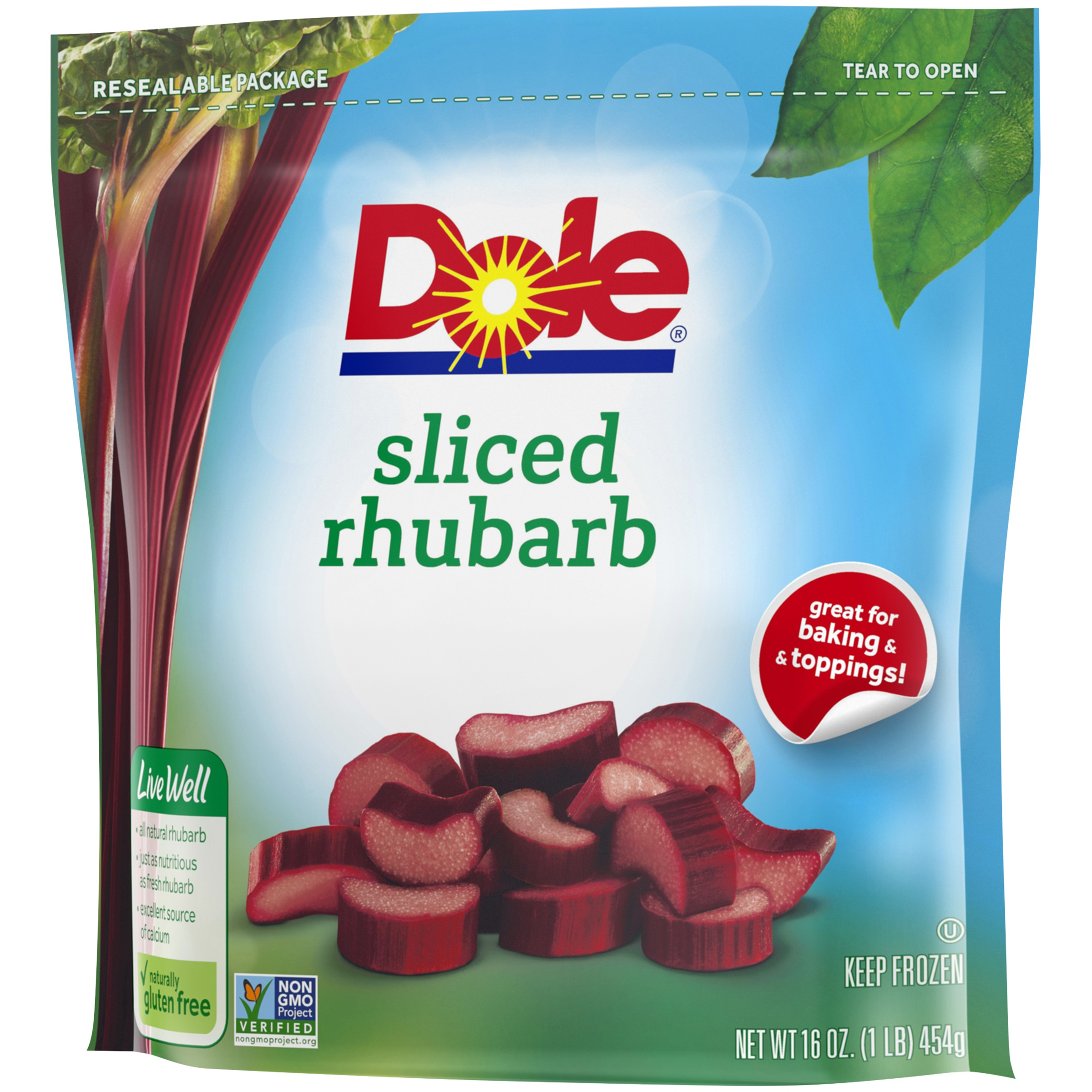 Dole Sliced Rhubarb 16 Oz Walmartcom
