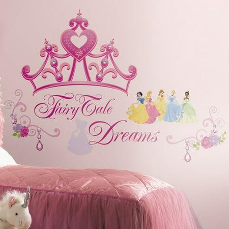 RoomMates Disney Princess Crown Peel & Stick Giant Wall Decal
