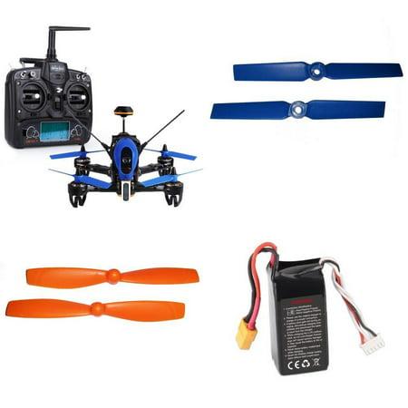 HobbyFlip [QTY: 1] RTF w/ DEVO 7/camera Racing Quadcopter [QTY: 1] Compatible with Walkera F210 3D