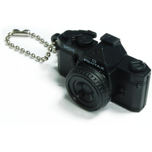 Pentax Capsule Mini Camera Keychain MX Black Camera