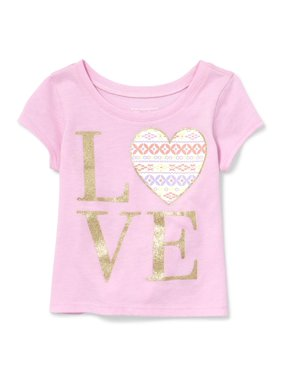 82788da81 Product Image The Children's Place Short Sleeve Graphic Tee (Baby Girls &  Toddler ...