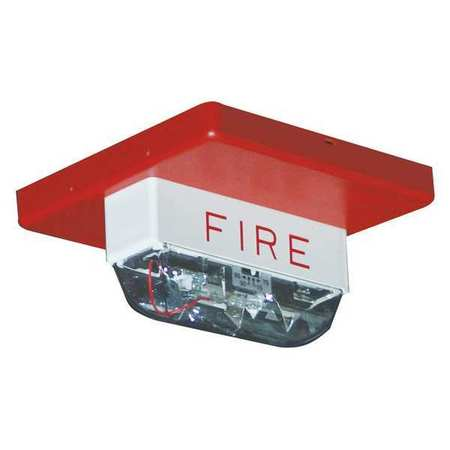 Strobe Light,Red,177 Candle Pwr,0.42A EATON CN125921