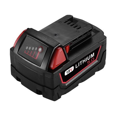 Powerextra 18V 5000mAh Replacement Battery for Milwaukee M18 48-11-1850 18 Volt Power Tools Lithium-ion Batteries