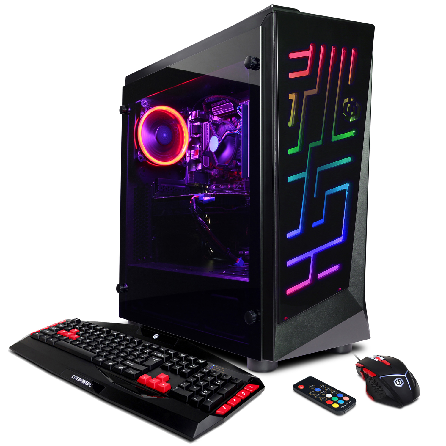 CYBERPOWERPC Gamer Xtreme GXi10920CPG w/ Intel i5-8600K Processor, AMD Radeon RX 580 4GB, 8GB Memory, 120GB SSD, 1TB HD and Windows 10 Home 64-Bit Gaming PC Gaming Bundle Included