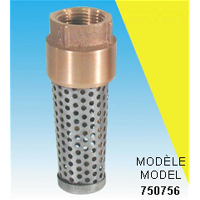 Bur-Cam Pumps 750756 1 inch Foot valves