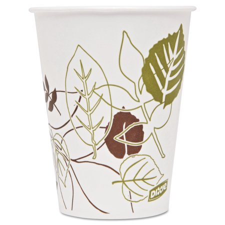 Dixie Pathways Polycoated Paper Cold Cups, 9oz, 2400/Carton -DXE9PPATH - Paper Cup