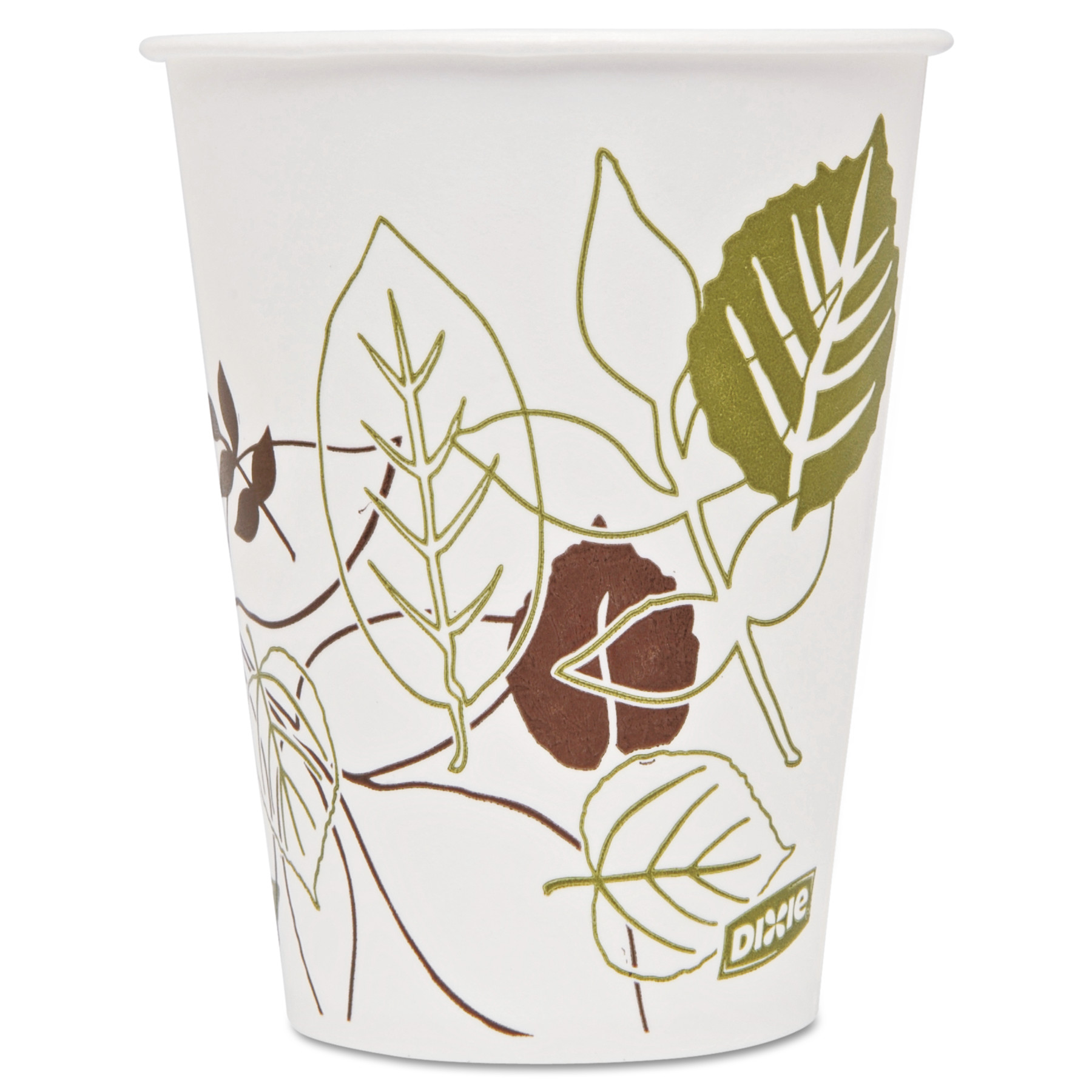 Dixie Pathways Polycoated Paper Cold Cups, 9oz, 2400/Carton -DXE9PPATH