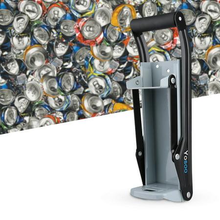 Qiilu Soda Can Crusher, Can Crushers,16oz Wall Mounted Home Dispensing Can Crusher Smasher Beer Soda Cans Crushing Recycling Tool - image 3 of 7