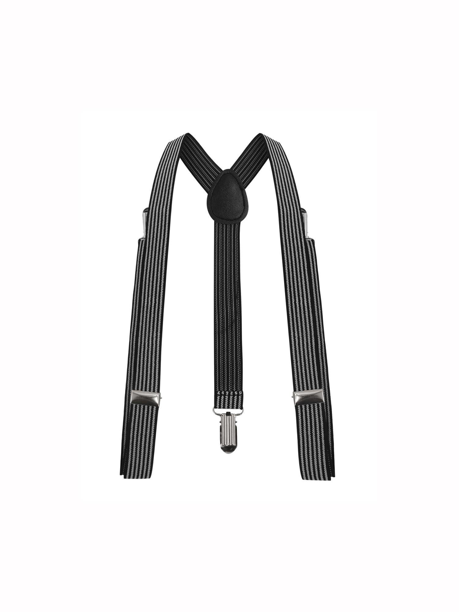 Unisex Elastic Y Shape Adjustable Leopard Prints Suspenders