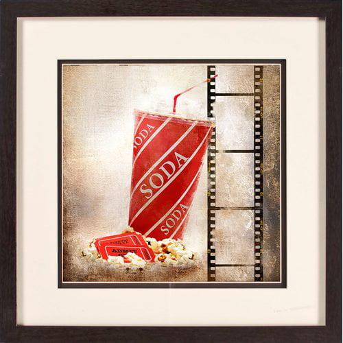 PTM Images Soda Gicl e Framed Graphic Art