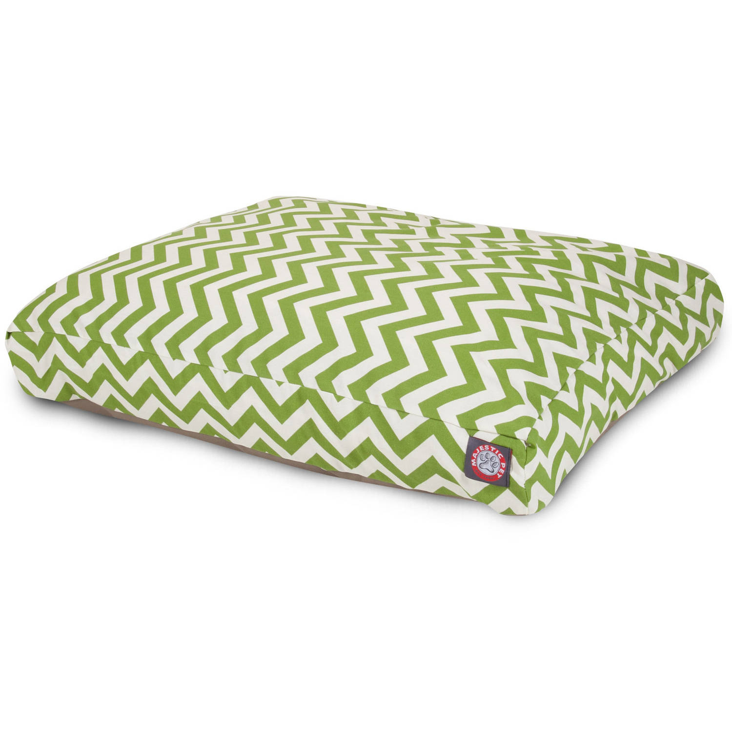 Majestic Pet Chevron Small Rectangle Outdoor Indoor Pet Bed Removable Cover