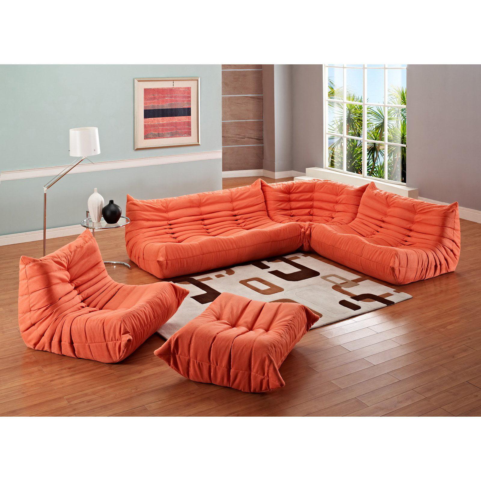 Modway Waverunner Sofa Set Multiple Colors Walmart