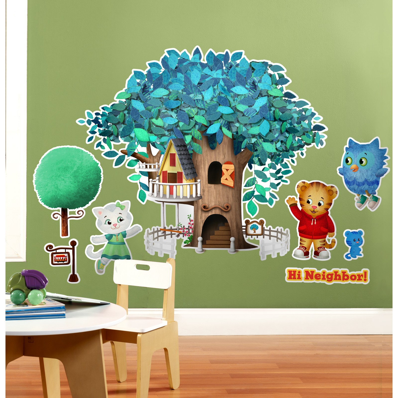 Daniel Tiger's Neighborhood Giant Wall Decals