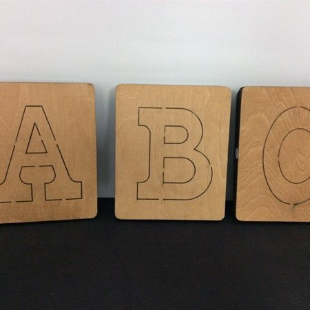 Refurbished Ellison Prestige SureCut Alphabet Set, 4in., Circus Capital Letter