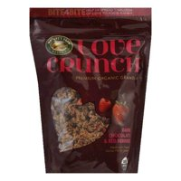 Nature's path organic love crunch dark chocolate & red berries premium granola, 11.5 oz, (pack of 6)
