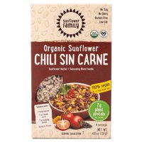 The Sunflower Family Organic Sunflower Hache Plus Seasoning Blend Chili Sin Carne 4.6 Oz, 4 Servings 235418 OC