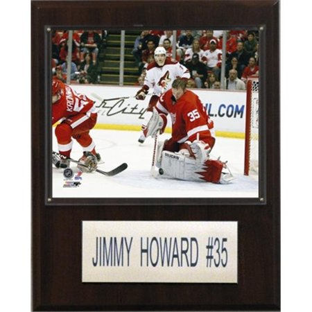 C&I Collectables NHL 12x15 Jimmy Howard Detroit Red Wings Player (Detroit Red Wings Best Players)