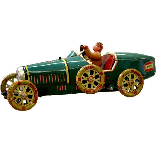 Alexander Taron Collectible Tin Toy Racer Car