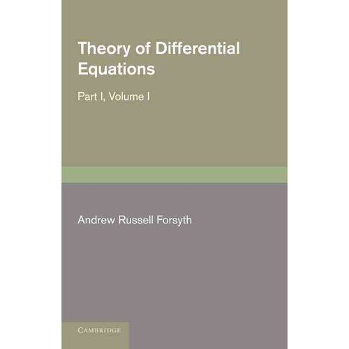 Theory of Differential Equations: Exact Equations and Pfaff's Problem