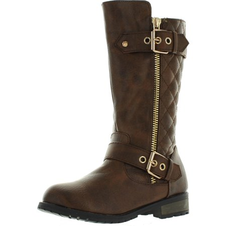 Link Girls Mango-21K New Knee High Flat Riding Boots Shoes