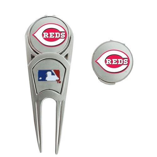 Cincinnati Reds WinCraft Ball Marker, Hat Clip & Repair Tool Set - No Size