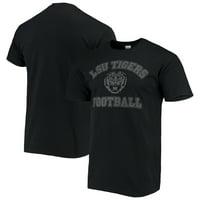 LSU Tigers Football Athletic Block T-Shirt - Black