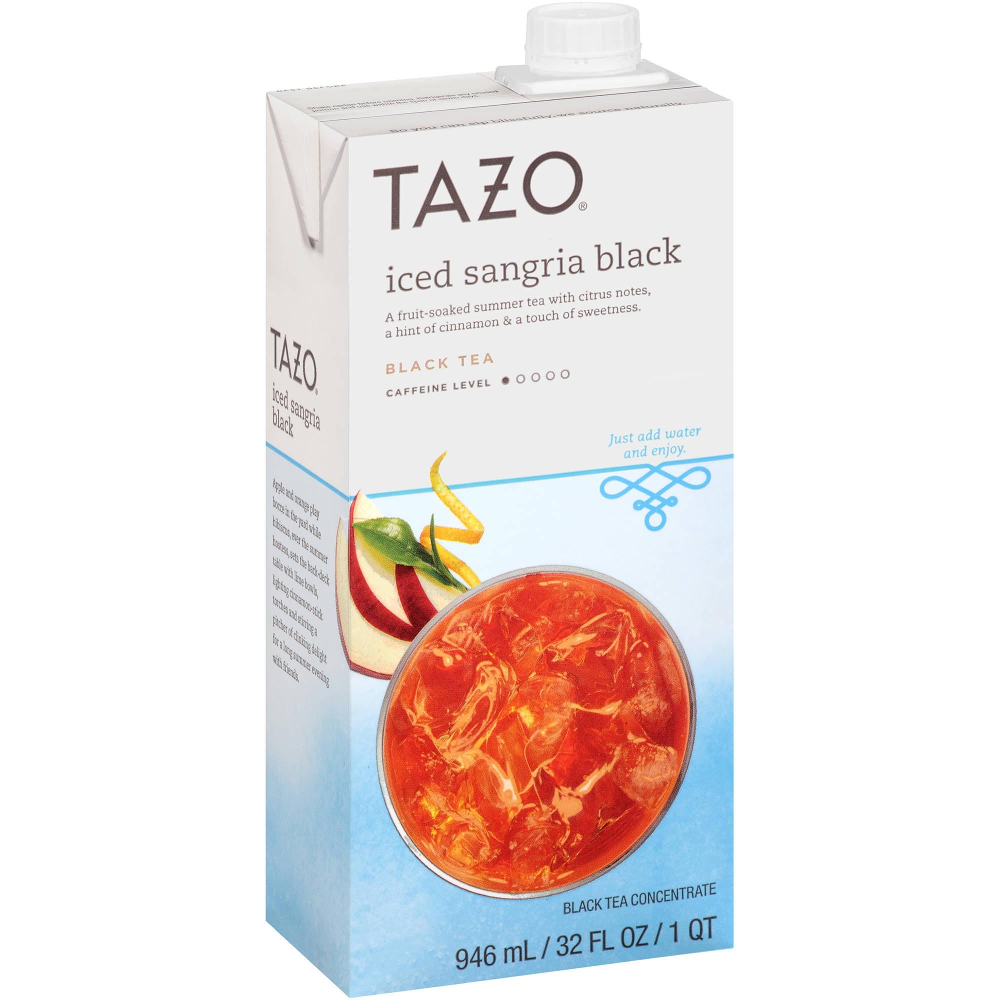 Tazo Iced Sangria Black Tea Concentrate, 32 fl oz
