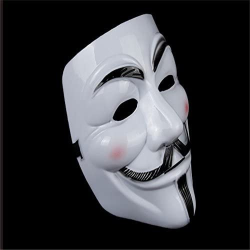 A075 New V Vendetta Mask Anonymous Halloween Costumes Party Supplies Hot-Sale